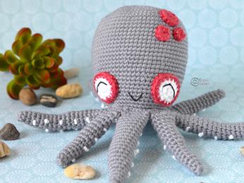 Caroline the Octopus Free Crochet Pattern