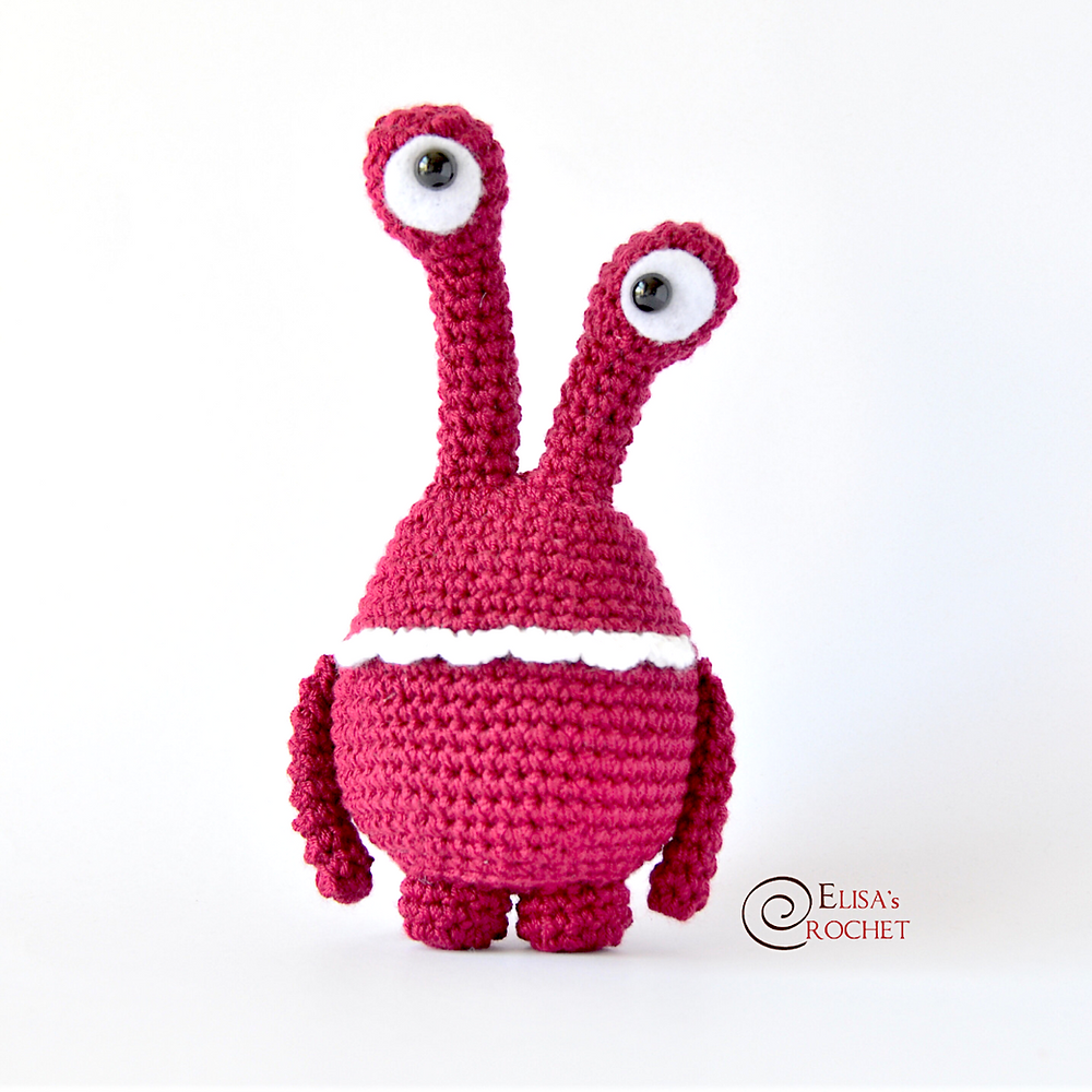Crochet Amigurumi Baby Monsters with CraftyisCool / Magic Ring ... | 1000x1000