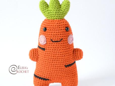 Amigurumi Carrot Free Crochet Pattern