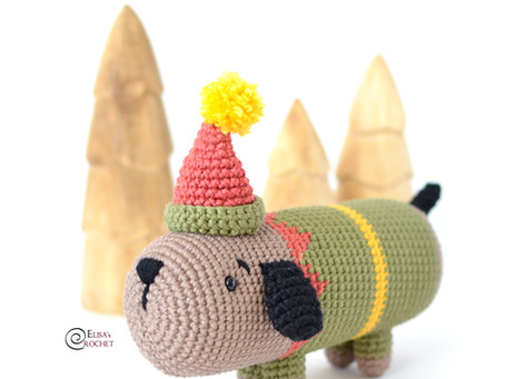 The Elf on the Shelf Sausage Dog Free Crochet Pattern