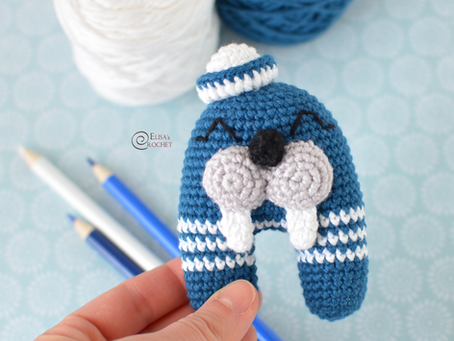 Mister Walrus Free Crochet Pattern