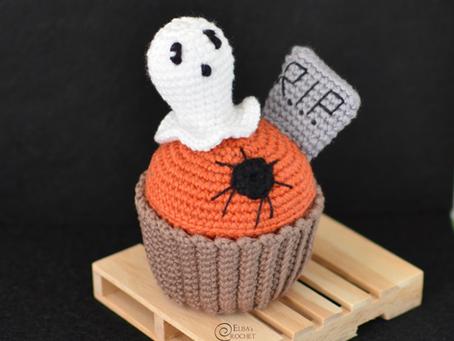Halloween Cupcake Free Crochet Pattern