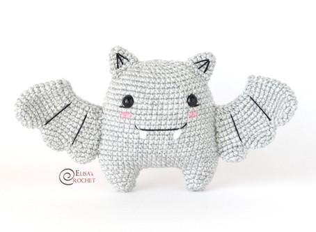 Linette the Bat Free Crochet Pattern