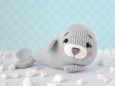Benny the Seal Free Crochet Pattern