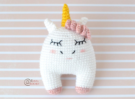 Sweet Unicorn Free Crochet Pattern