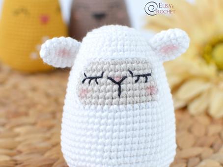 Sheep Easter Egg Free Crochet Pattern