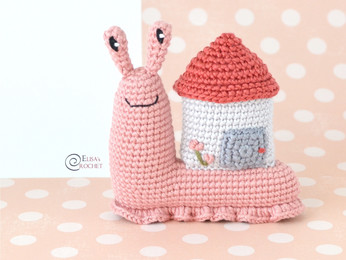 Abigail the Snail Free Crochet Pattern