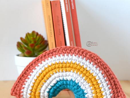 Rainbow Decor Free Crochet Pattern