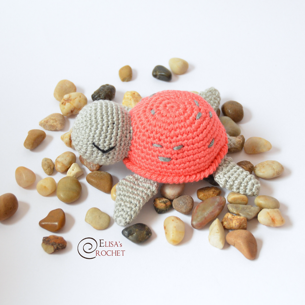 Crochet Turtle Amigurumi Toy Softies Free Patterns | 1000x1000