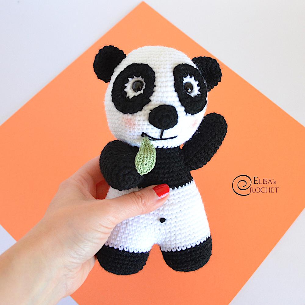 Pin de Erika Perez en Peluches de Oso Panda | Ganchillo amigurumi ... | 1000x1000
