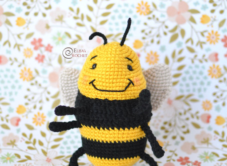 Bizzle the Bumblebee Free Crochet Pattern