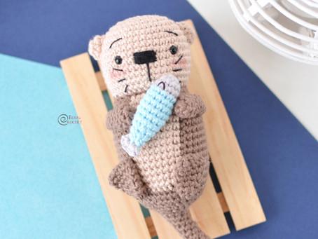 Gilbert the Otter Free Crochet Pattern