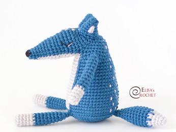 Duke the Wolf Free Crochet Pattern
