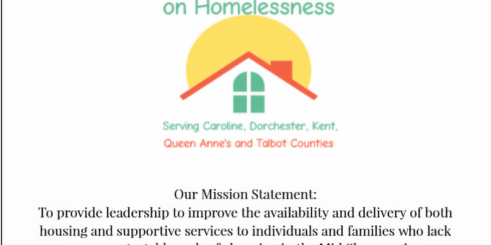 Mid Shore Roundtable on Homelessness