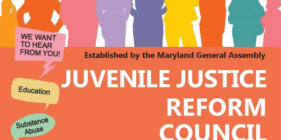 Juvenile Justice Reform Council Listening Session