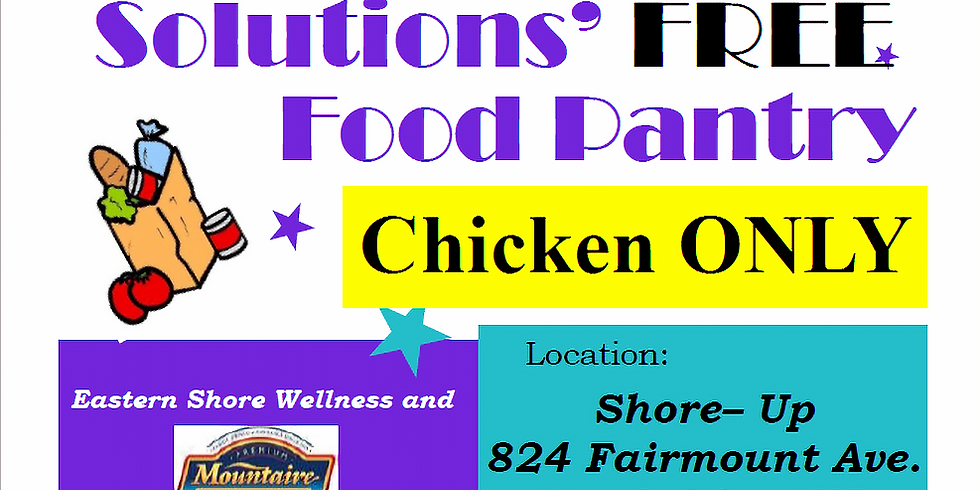 Eastern Shore Wellness Solutions Free Food Pantry