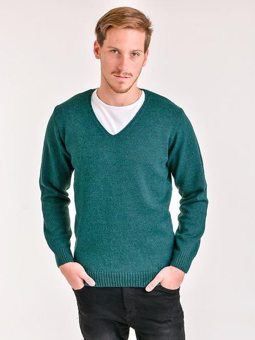 Sweater escote V