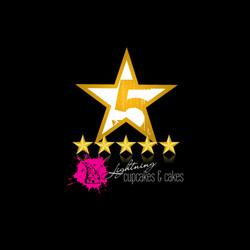 5 Star Lightning Cupcakes