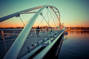 Tempe AZ walking bridge