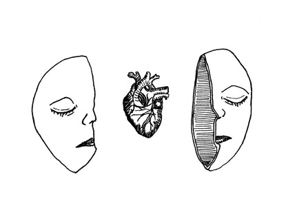 HEART CAUGHT IN THE HEAD