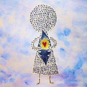 ALPHABET GIRL DISCOVERS ART