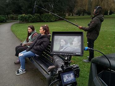 Filming 'Ashamed' 2020