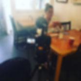 Filming client Savannah Gallo