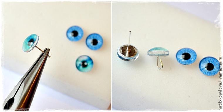 Make a loop using pliers.