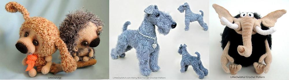 LittleOwlsHut crochet patterns