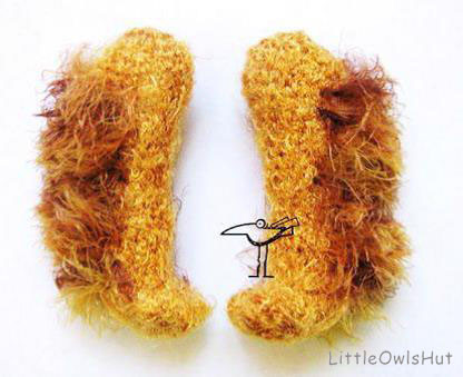 English cocker spaniel's legs LittleOwlsHut