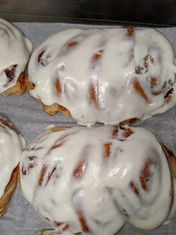Frosted Bear Claws