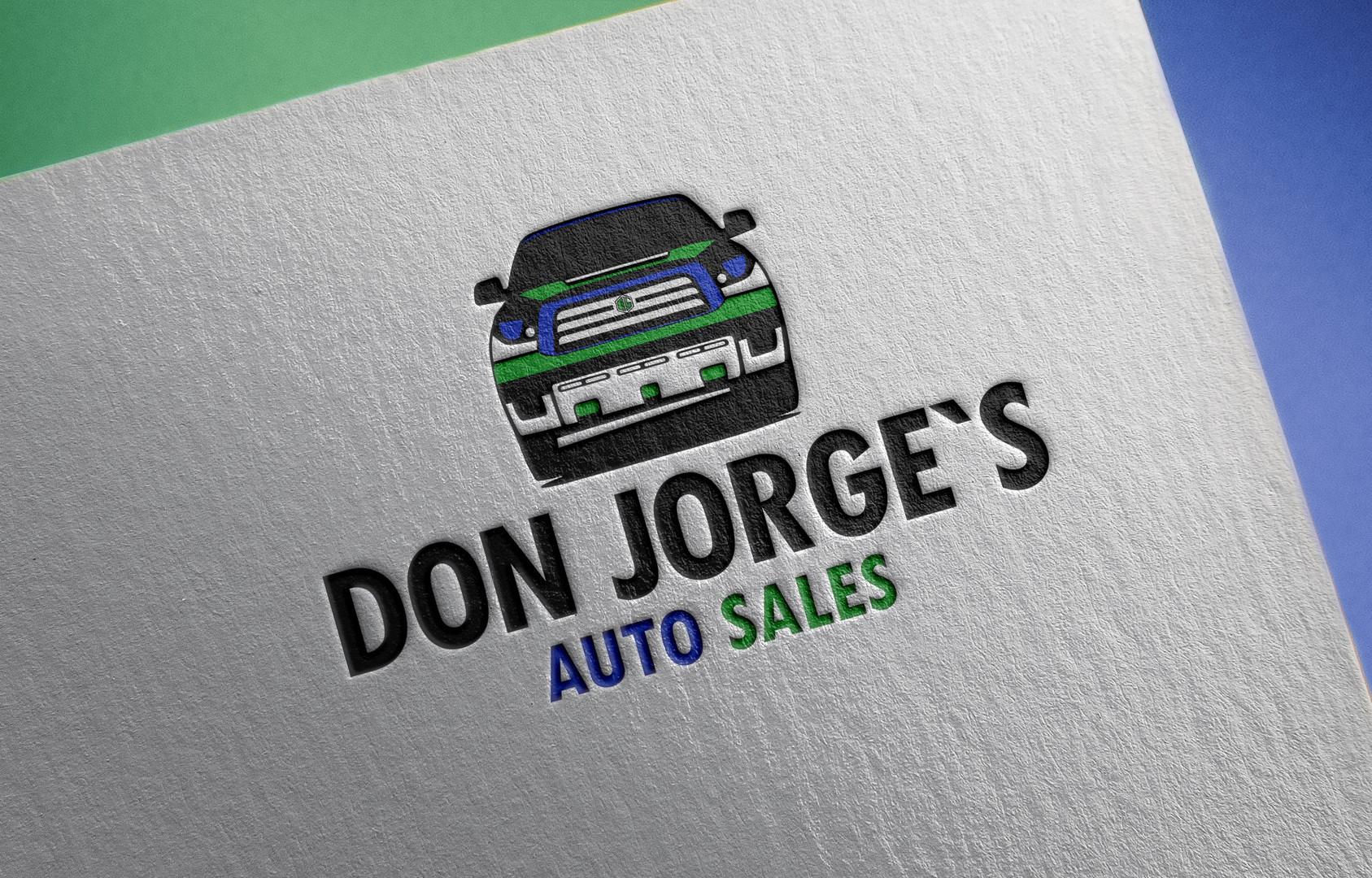 DON JORGE´S AUTO SALE