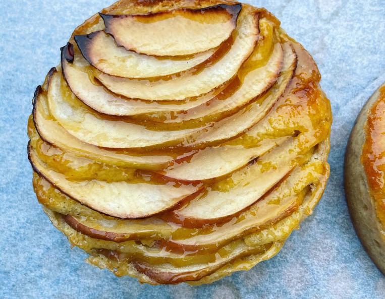 Apple & Almond Tart