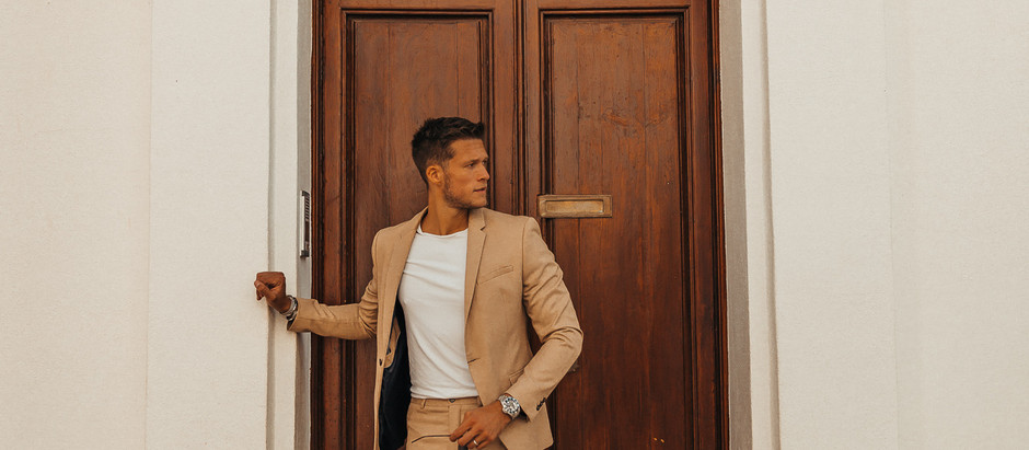 How I wear a blazer and look casual.