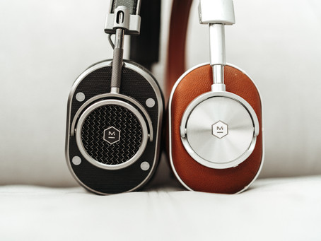 A clean design for premium headphones.