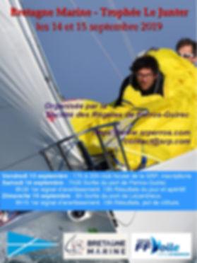 Bretagne Marine Le Junter 2019 affiche e