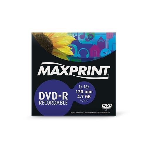 DVD-R Maxprint 4.7 GB / 120 MIN - 16X - Envelope