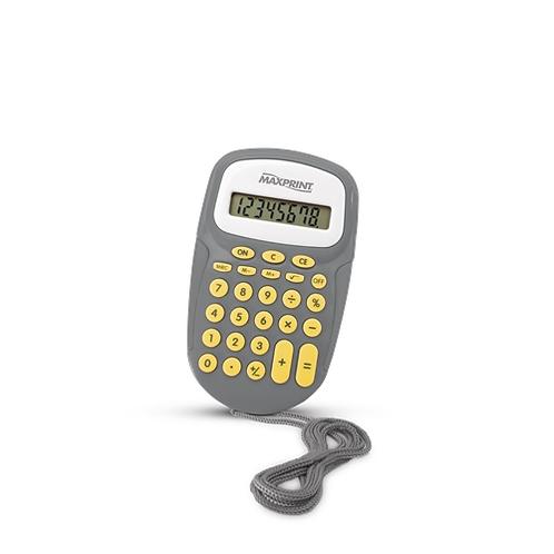 Calculadora de Mesa Maxprint - MX-C86 - Preta/Cinza
