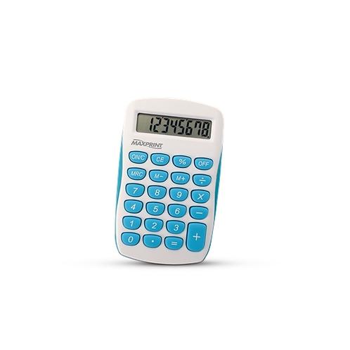 Calculadora de Mesa Maxprint - MX-C86 - Azul/Branca