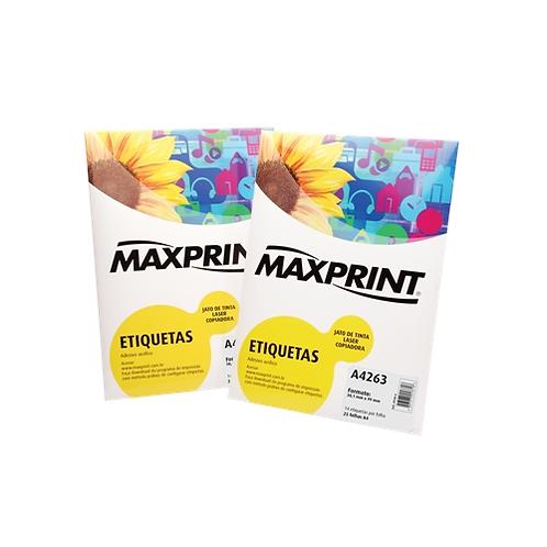 Etiqueta InkJet/Laser Maxprint - Diversos Modelos