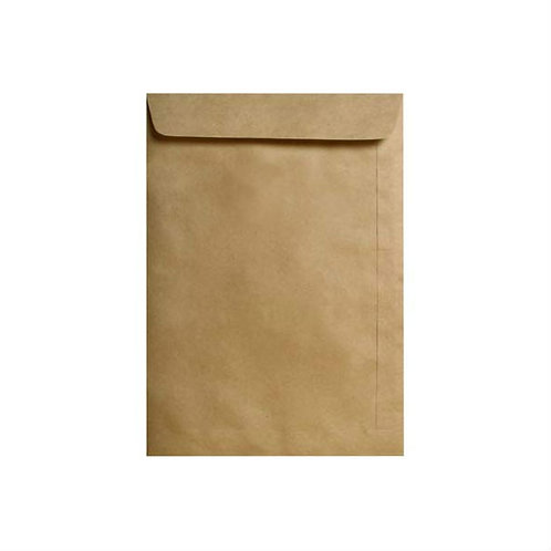 Envelope Kraft Natural 162mm x 229mm