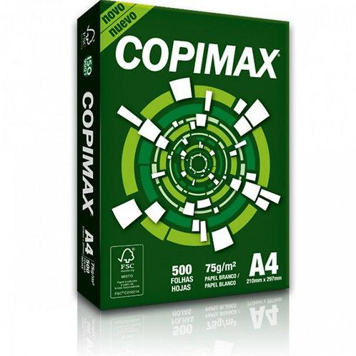 Papel Copimax A4 Resma c/ 500 fls.