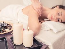Massage dos épaule mieux être relaxant