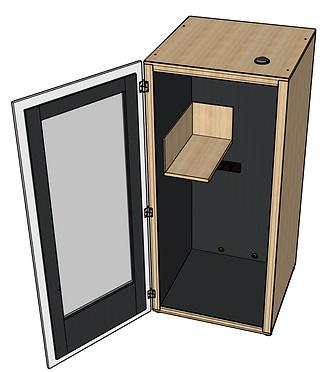 Drawing Phonebooth quiiet