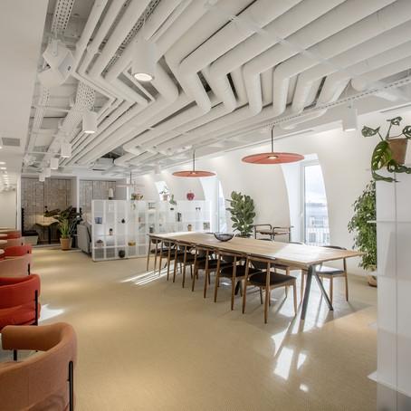 Les nouveaux bureaux : Réinventer l'espace de travail