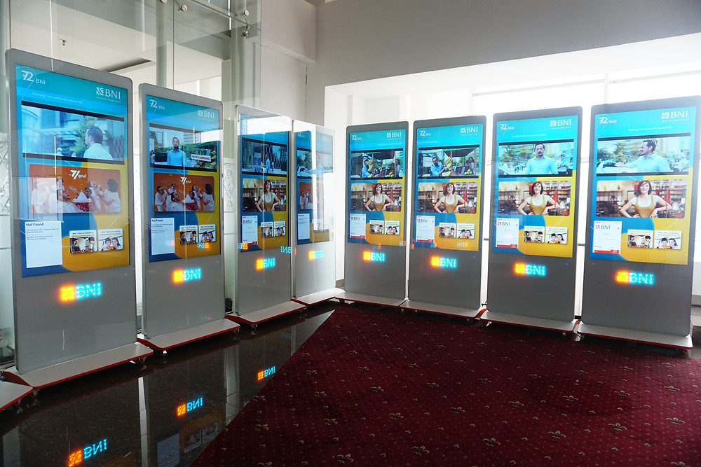 Digital Signage by PT. Sentuh Digital Teknologi Indonesia