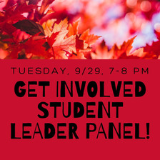 Club Leaders Join AUCC for a Student Leader Panel