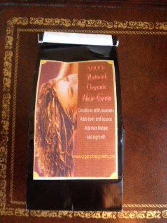 International client, kit-one month supply  of Organic Hair Growth.