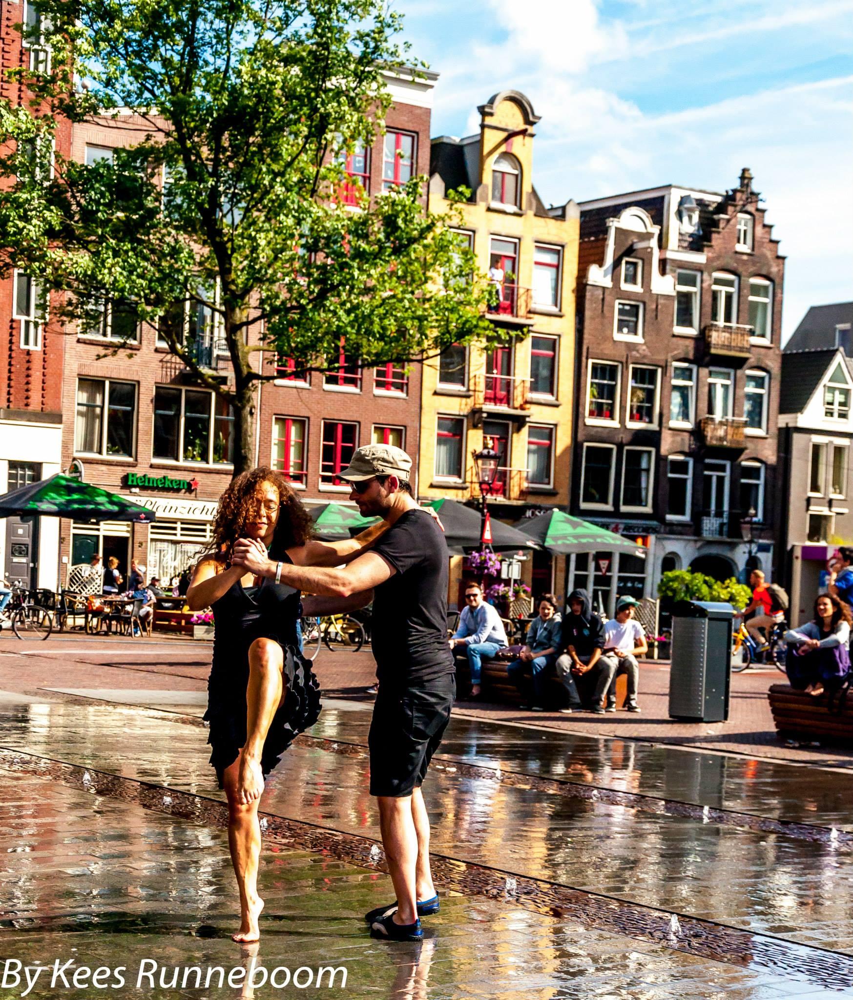 Flashmob Amsterdam