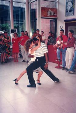 Juliana Dances bolero at Stopera